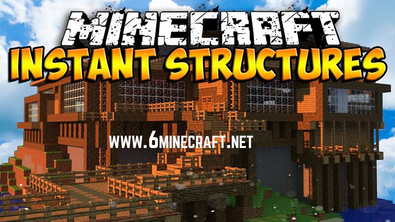 Instant Structures Minecraft 1.15.1