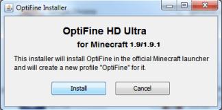 Optifine HD 1.12.2/1.11.2