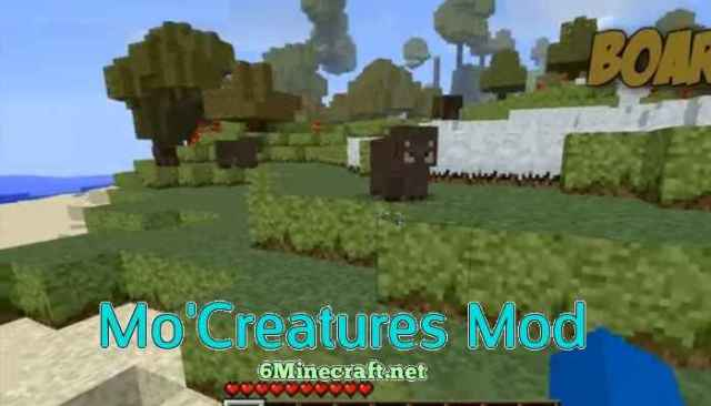 Mo' Creatures Mod 1.10.2