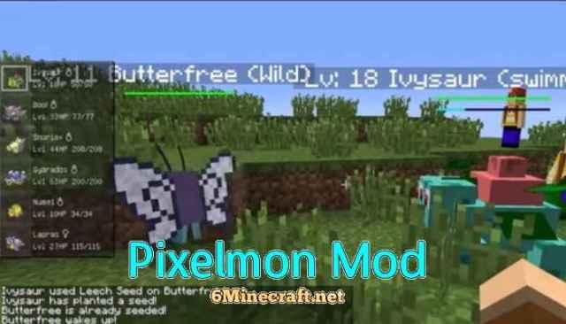 Pixelmon Mod for Minecraft 1 14 4/1 13 2/1 12 2/1 11 2/1 10 2