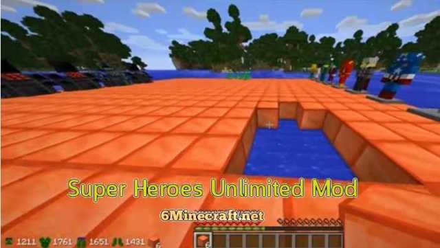 Super Heroes Unlimited Mod 1.9.4