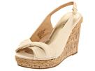 Madden Girl - Elivia (Natural Fabric) - Footwear