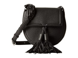 Rebecca Minkoff - Isobel Saddle Bag (Black) Handbags