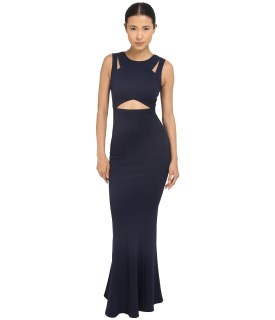 ZAC Zac Posen - Claire Gown (Navy) Women's Dress