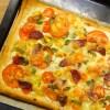 Tommy Tart, butterdejstærte med tomater og ost