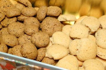 Pebernødder med og uden lakrids