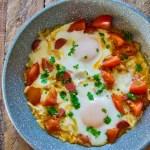Bagte æg og tomater | 6pm.dk