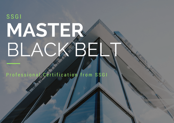 Master Black belt Certification