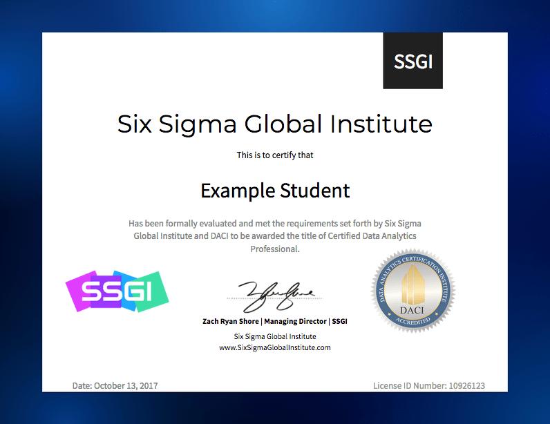 Data Analytics Certification & Training Online | SSGI