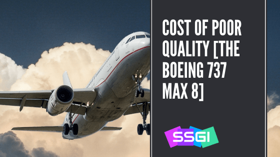 SSGI Cost of Poor Quality