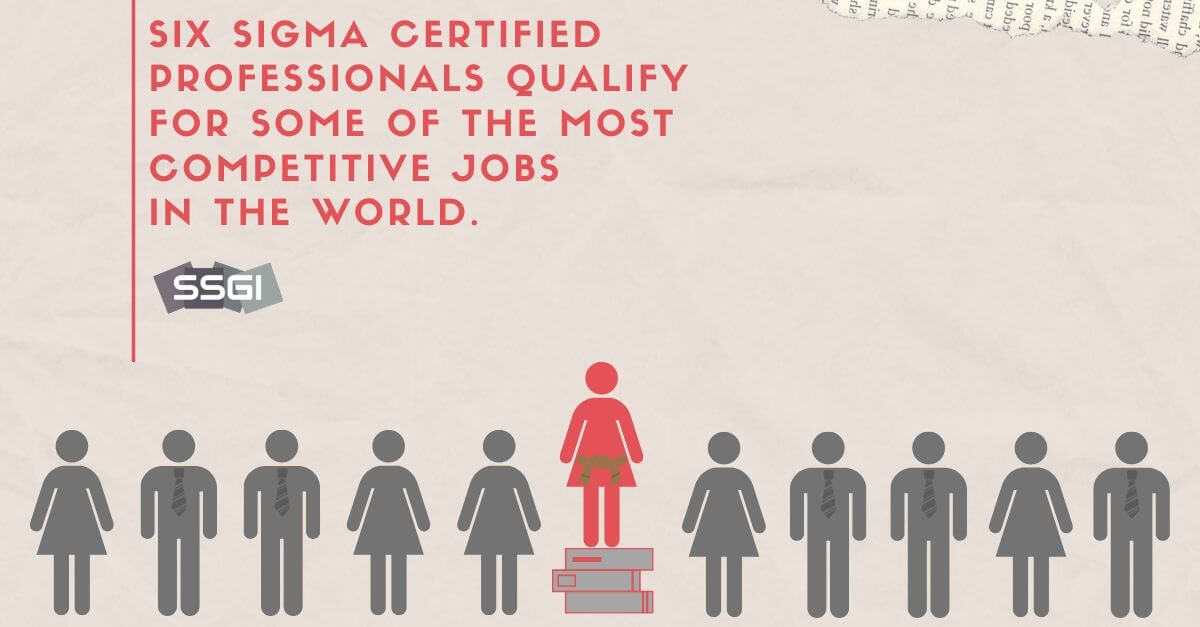 six sigma certification benefits