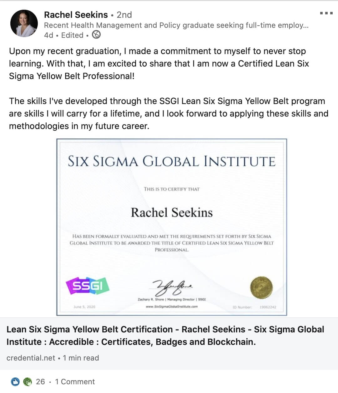 ssgi lean six sigma yellow belt review