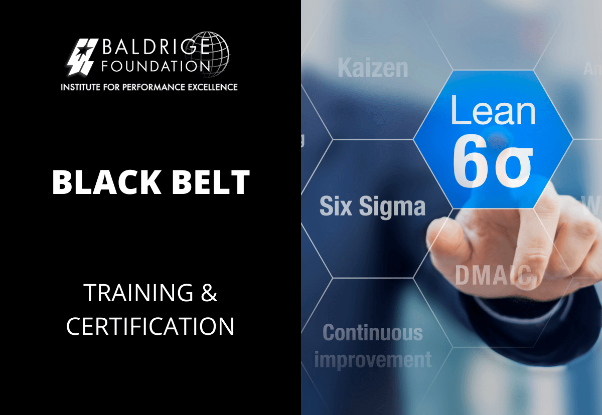 BLACK BELT Baldrige