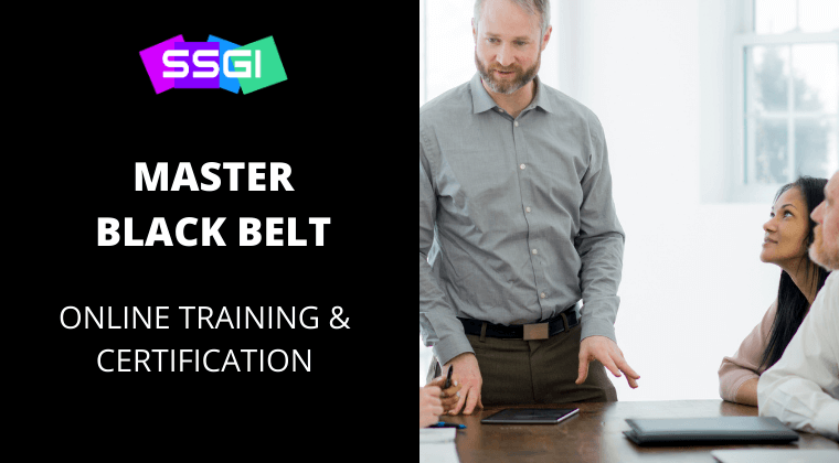 SSGI master black belt six sigma certification