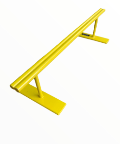 Yellow double round fingerboard rail
