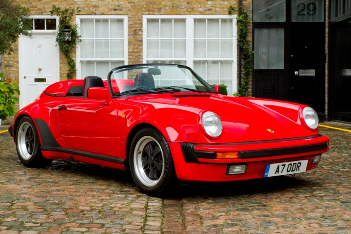 Lady in Red: '89 911 Sdster for Sale on Hexagon