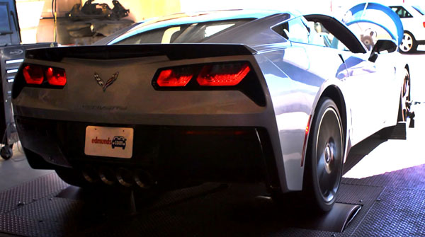 2014 Chevrolet Corvette Stingray on the Dyno Home