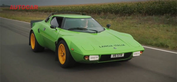 The Lancia Stratos Is Back In The Form Of A Kit Car 6speedonline