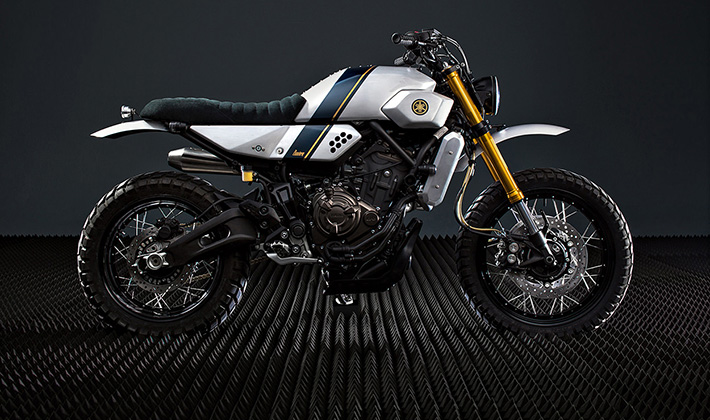 Bunker Customs Announces Itself To The World With This Sick Custom Yamaha XSR700