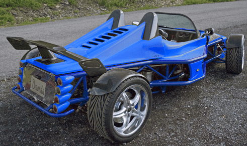 The Deronda Sports Car is Stripped Down and on Steroids - 6SpeedOnline