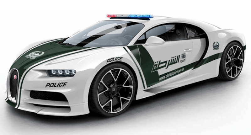 Could the Bugatti Chiron Join the Dubai Police Force