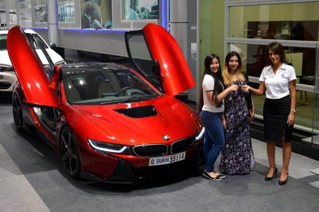 Abu Dhabi Princess BMW I8 6SpeedOnline 1