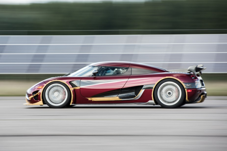 agera rs 0 to 400 to 0 car