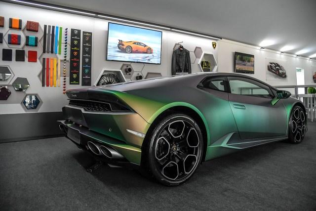 Lamborghini Huracan ad personam