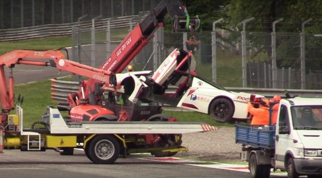 Ferrari FXX Evoluzione Crash