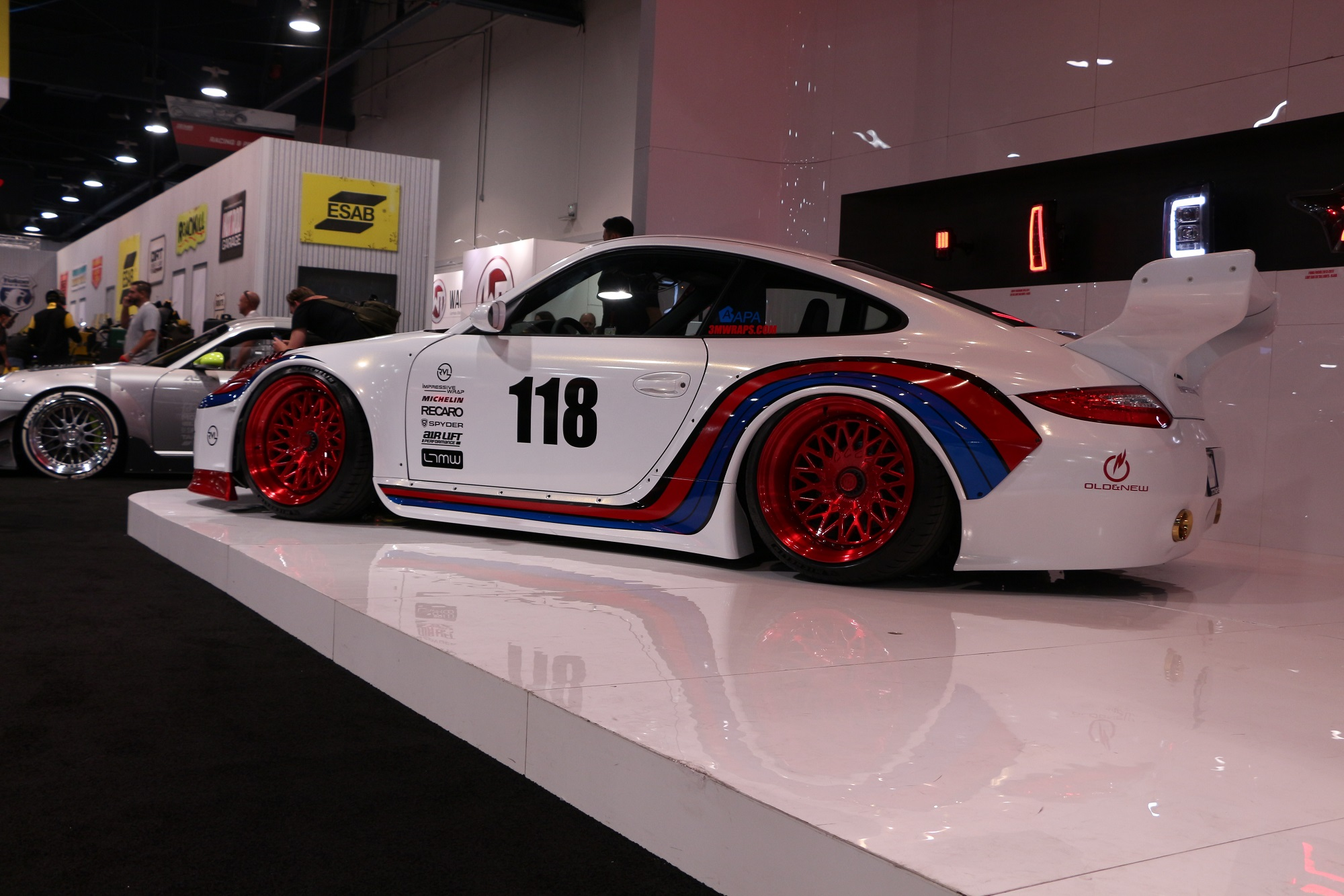 6SpeedOnline.com SEMA 2017 Porsche 997 911 987 Cayman