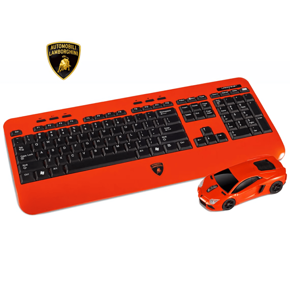 Lamborghini Aventador Keyboard & Mouse Set