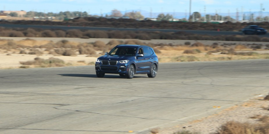 6speedonline.com 2018 BMW X3 M40i MPG Track Day Willow Springs First Drive Test Review