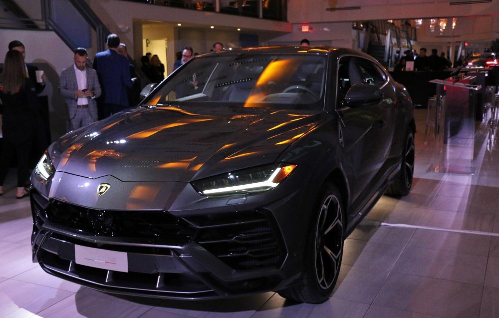 Lamborghini Houston Reveals Urus To Clients