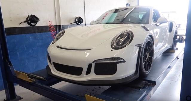 6SpeedOnline.com Porsche 911 GT3 RS 991 Alignment Obsessed Garage