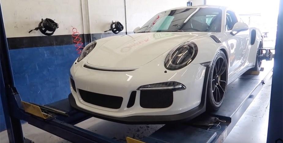 Porsche GT3 RS alignment