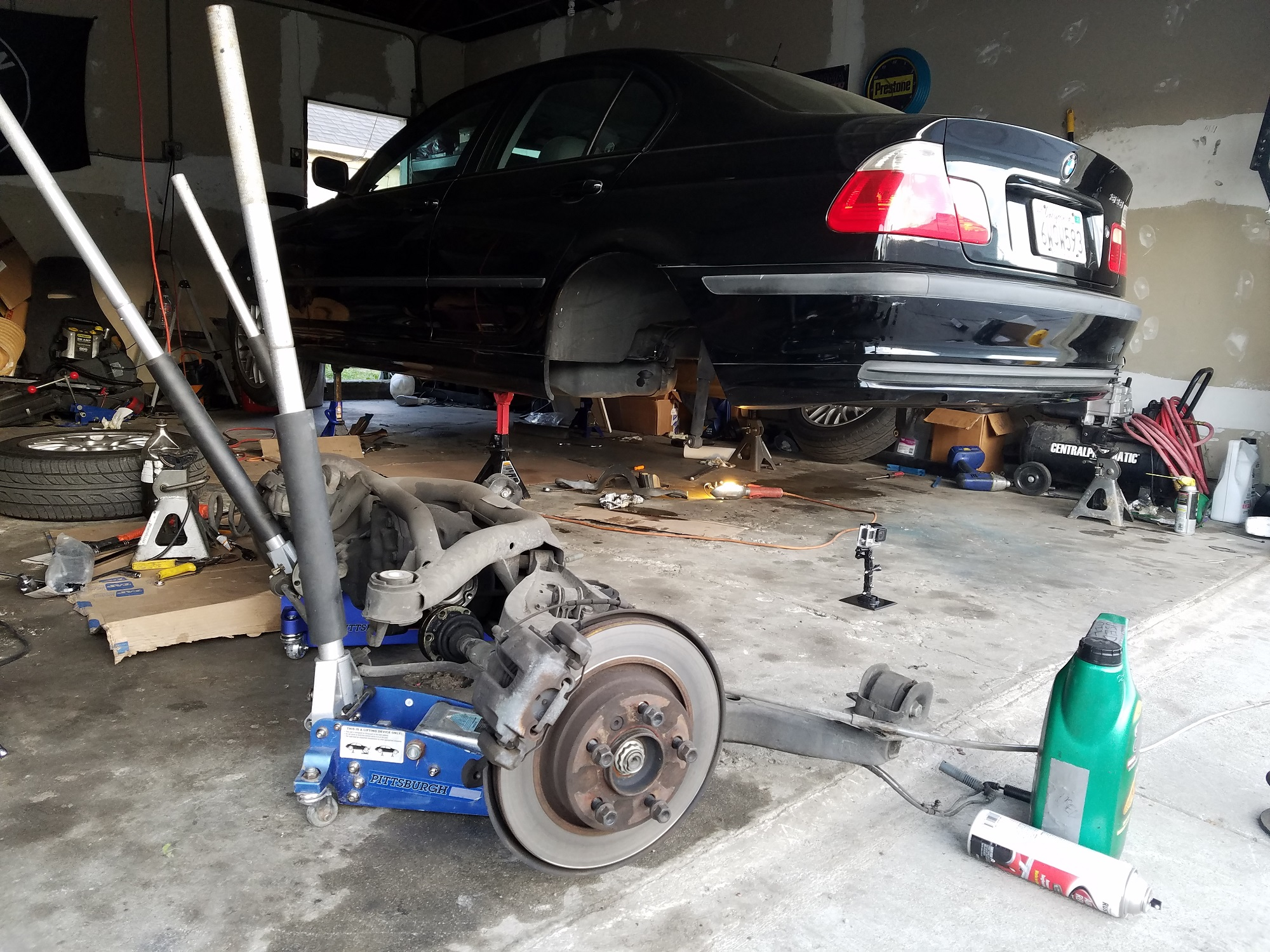 Removing the Rear Subframe From Project BMW E46 - 6SpeedOnline
