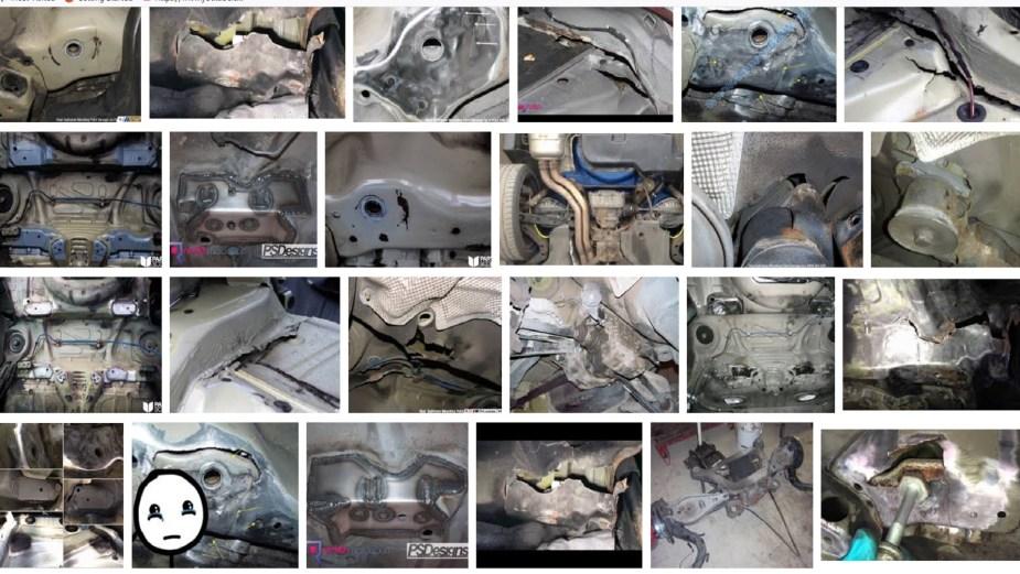 6SpeedOnline.com BMW Project E46 Subframe Cracking Failure Damage Inspection