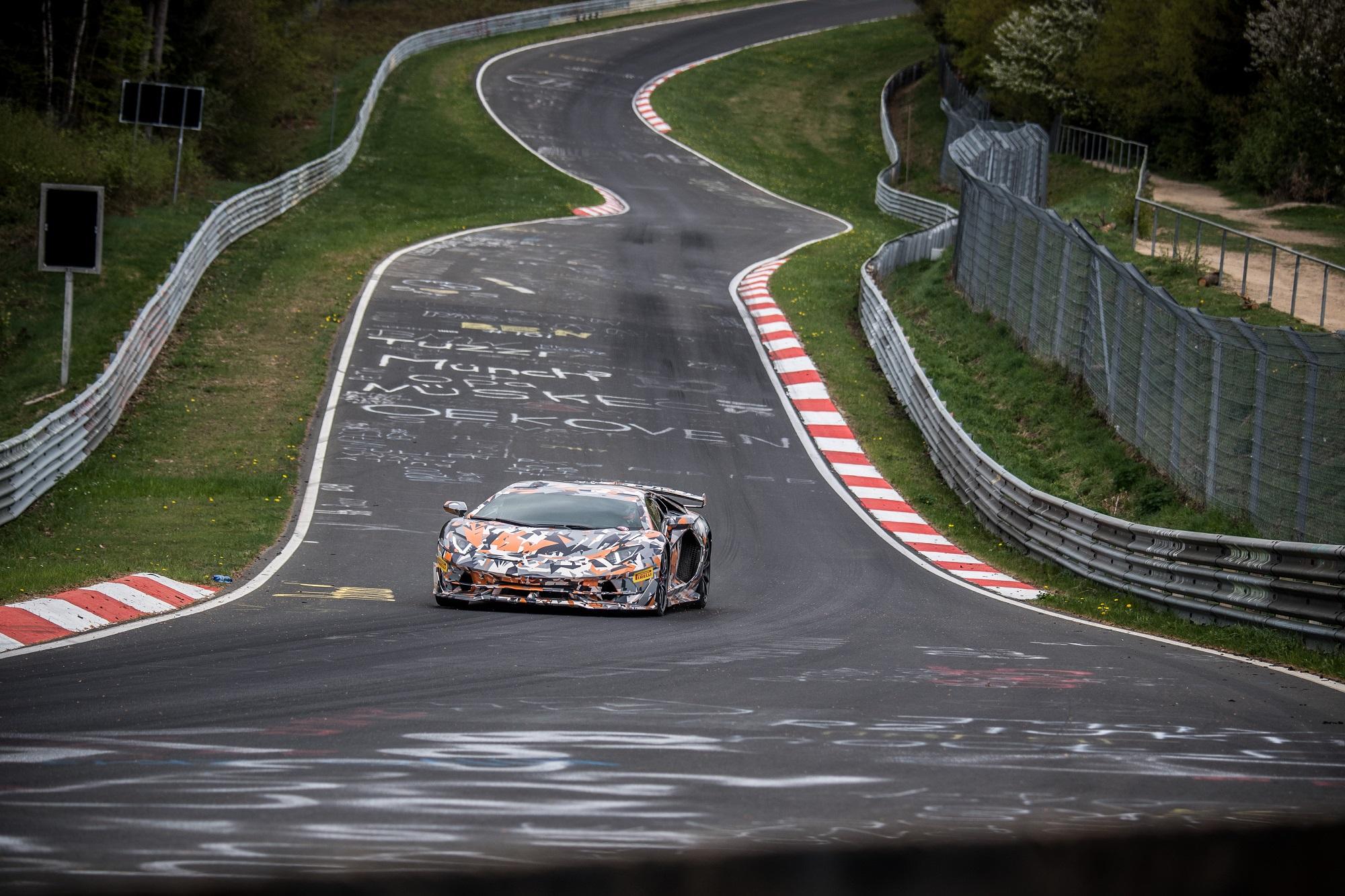 Lamborghini Aventador SVJ Jota Nurburgring 6SpeedOnline.com