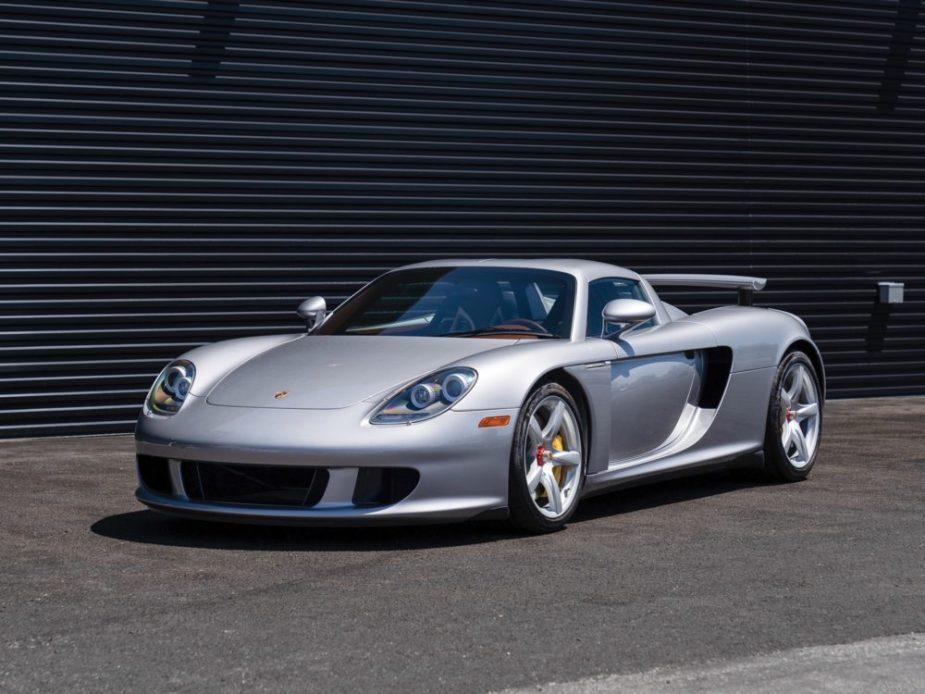 Low Mileage Porsche Carrera Gt Is An Exotic Time Capsule 6speedonline