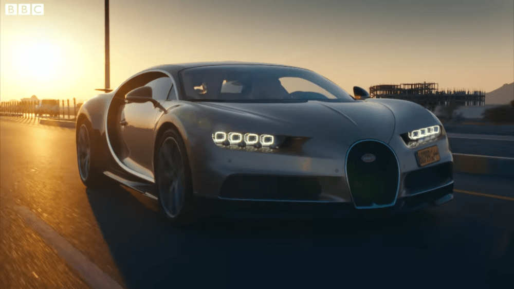 Bugatti Chiron Battles Ducati 1299 Superleggera to Omani Spa