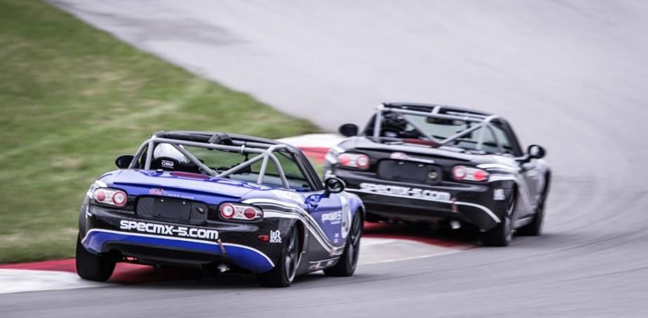 Spec MX-5 Challenge Series Wing Road Racing Mazda Miata 6SpeedOnline.com