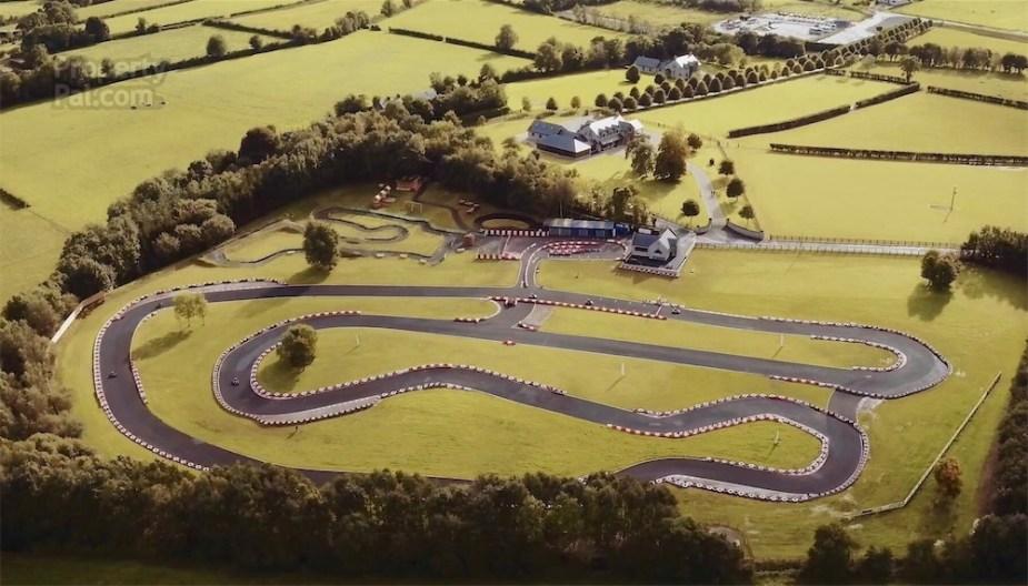 Irish mansion with a go-kart track.