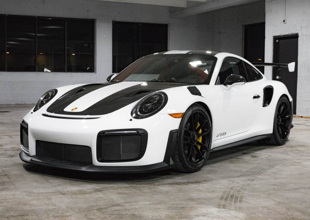 2018 porsche 911 gt2 rs weissach available on bring a trailer