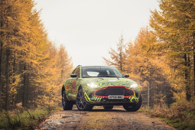 2019 Aston Martin DBX SUV Announcement 6SpeedOnline.com