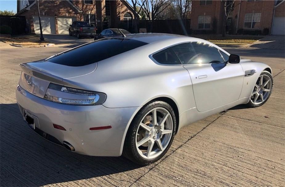 Aston Martin V8 Vantage daily driver.