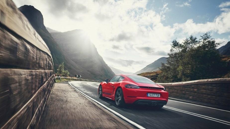 Porsche 718 Boxster T 718 Cayman T Model News Info