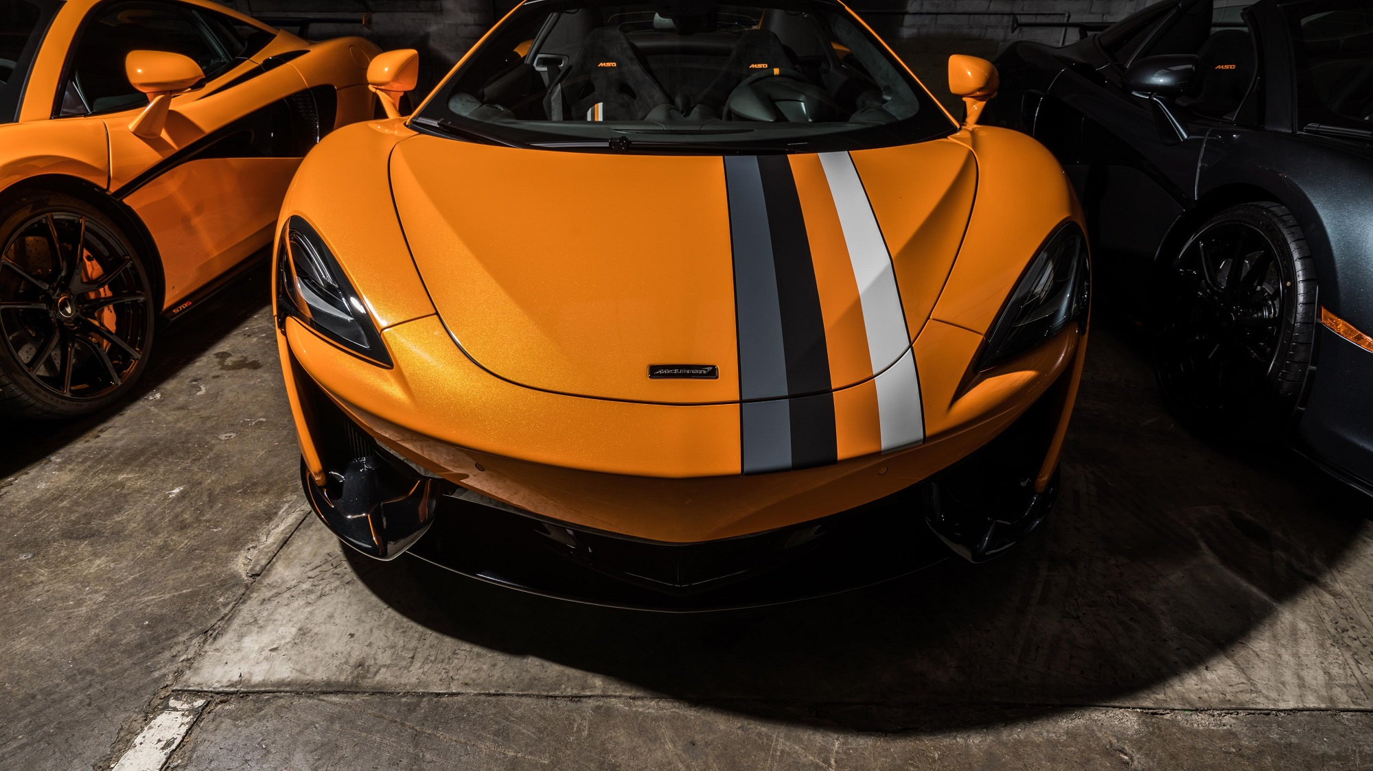McLaren Special Operations MSO Racing Through the Ages McLaren Beverly Hills 570S Coupe Convertible