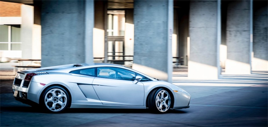 Danica Patrick 2004 Lamborghini Gallardo