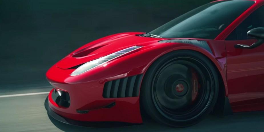 Ferrari 458 GT3 Race Car Road Legal Version