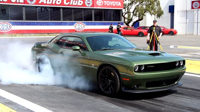 Jake Stumph 2019 Dodge Challenger RT Scat Pack 1320 Drag Strip Test First Drive Review